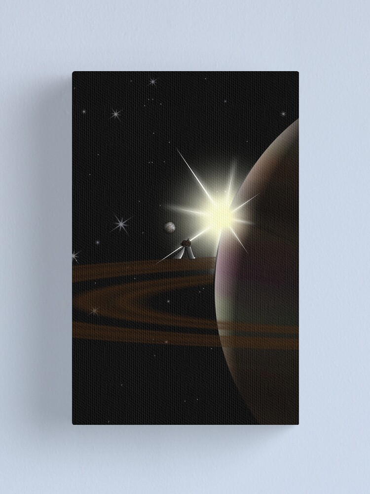 Alternate view of Planetary Lof - two lof bees Canvas Print