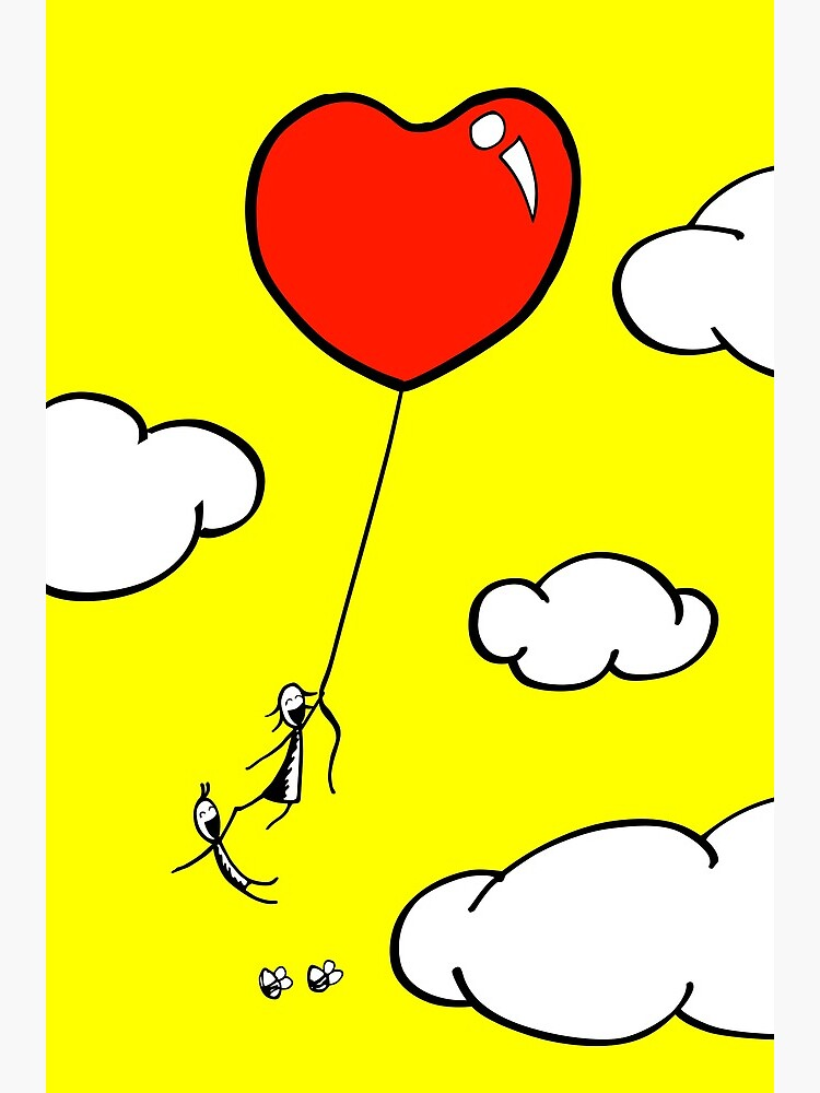 The Lof Balloon - two lof bees by Cheeseness