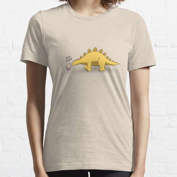 Hello Friend (Dinosaur) - two lof bees Essential T-Shirt