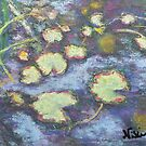 Water Lilies (pastel) by Niki Hilsabeck