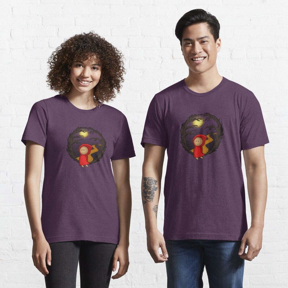 Girl In The Woods - two lof bees Essential T-Shirt