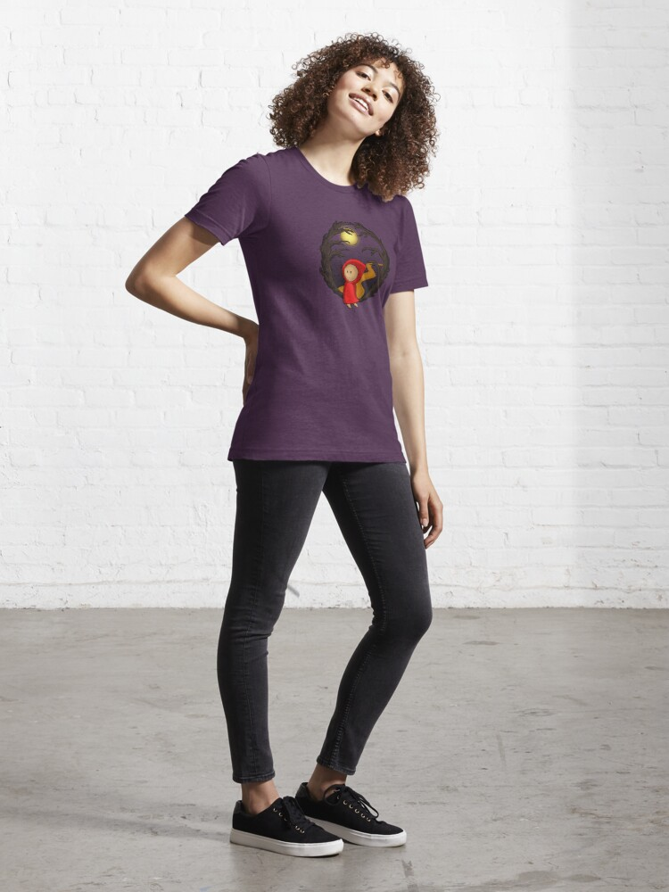 Alternate view of Girl In The Woods - two lof bees Essential T-Shirt
