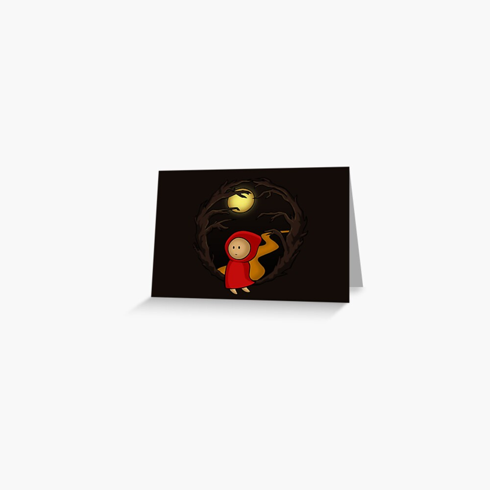Girl In The Woods - two lof bees Greeting Card