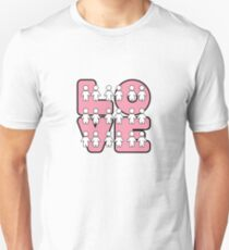 Four Letters (alternate design) - two lof bees Unisex T-Shirt