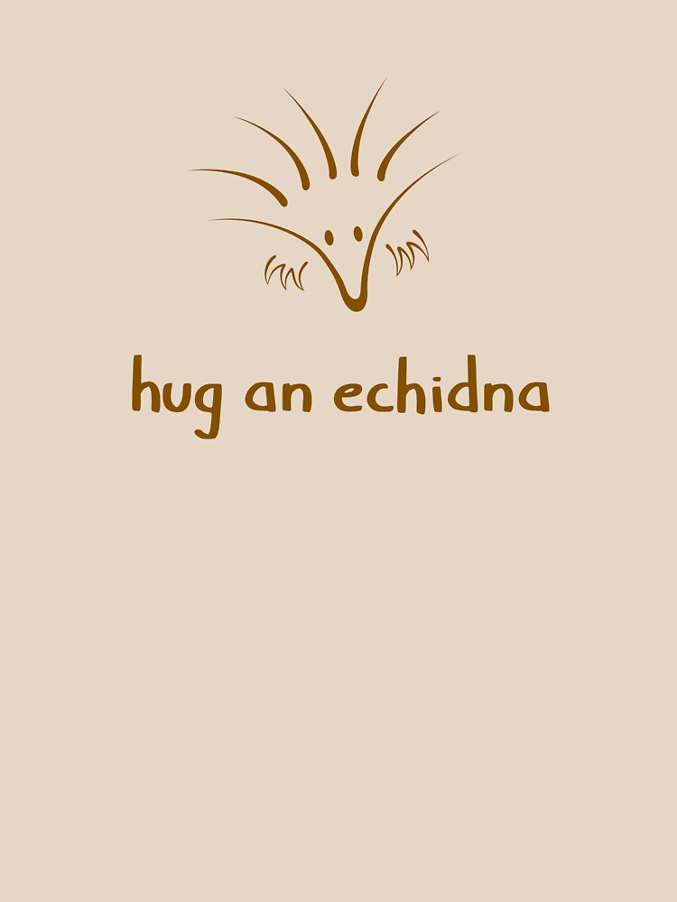 Hug An Echidna - two lof bees by Cheeseness
