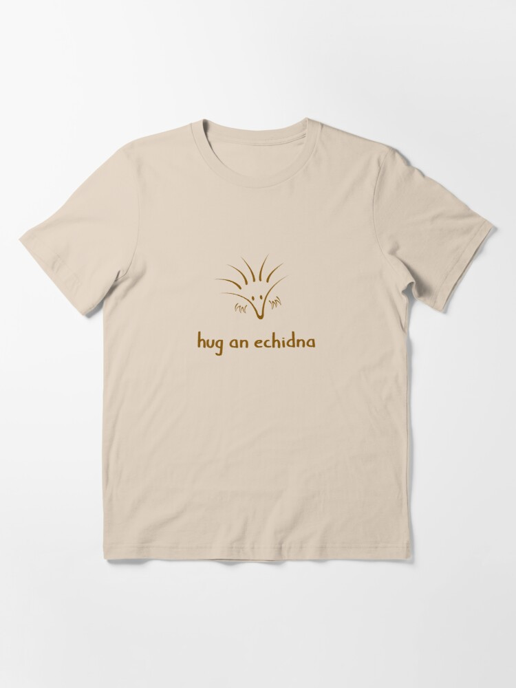 Alternate view of Hug An Echidna - two lof bees Essential T-Shirt