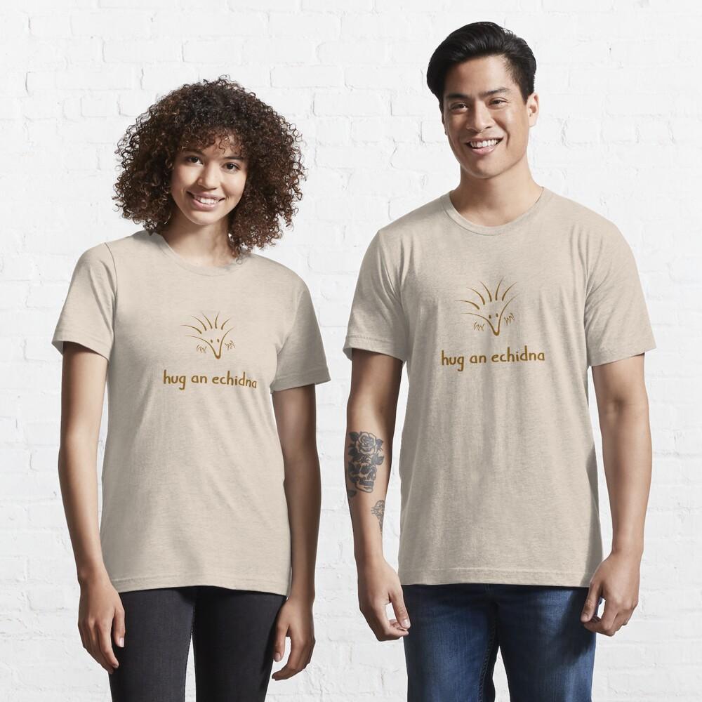 Hug An Echidna - two lof bees Essential T-Shirt