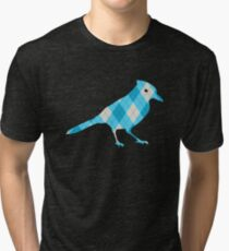 Argyle Blue Jay Tri-blend T-Shirt