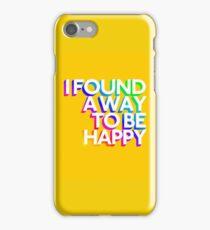 Marina and the diamonds - Happy iPhone Case/Skin