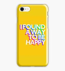 Marina and the diamonds - Happy iPhone Case/Skin