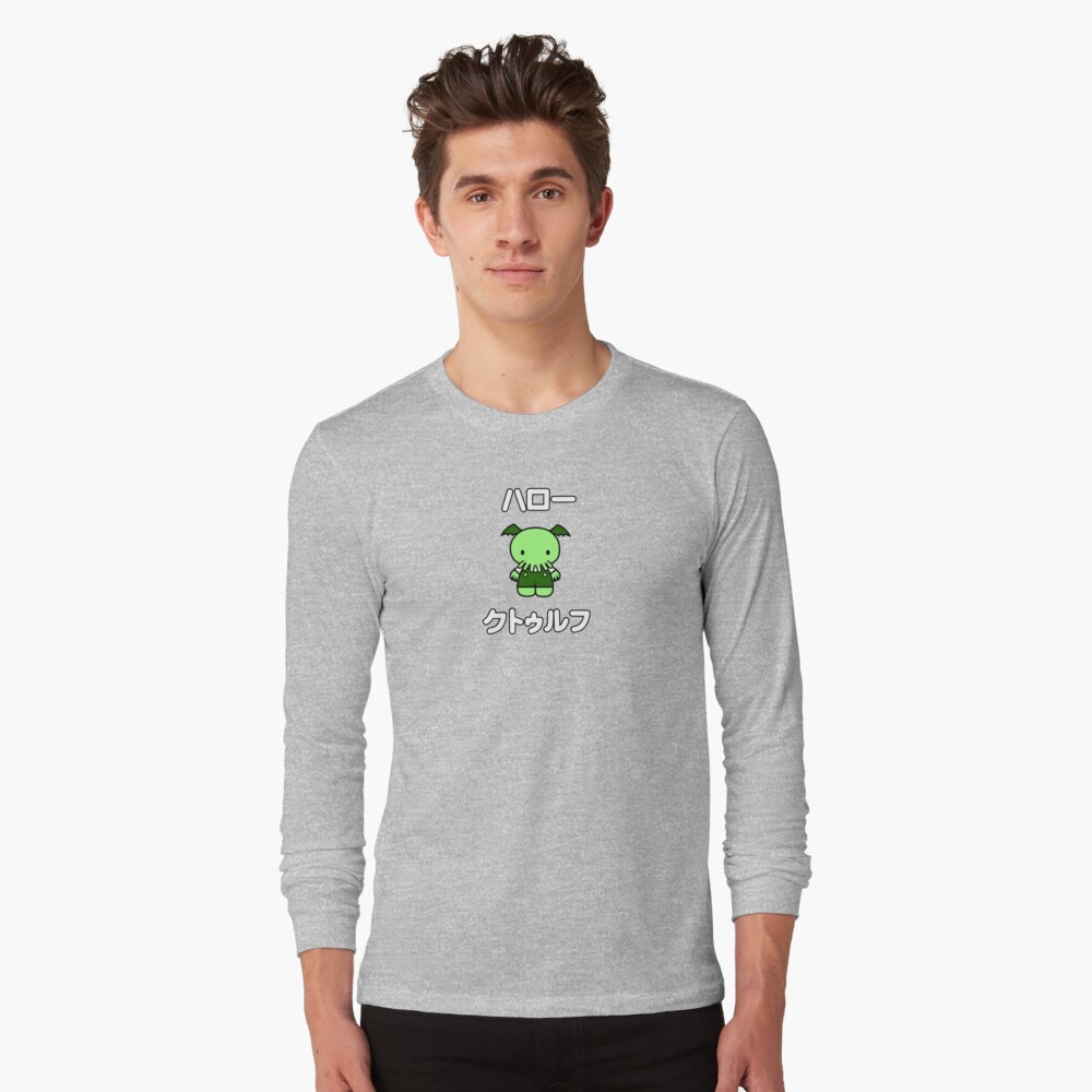 Hello Cthulhu - two lof bees Long Sleeve T-Shirt