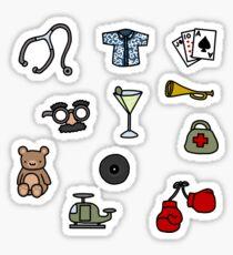 Martinis and Medicine Sticker