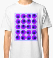 """""""PSYCHEDELIC 3D ABSTRACT"""" Whimsical Print Classic T-Shirt"""