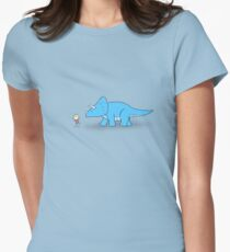 Hello Triceratops Women's Fitted T-Shirt