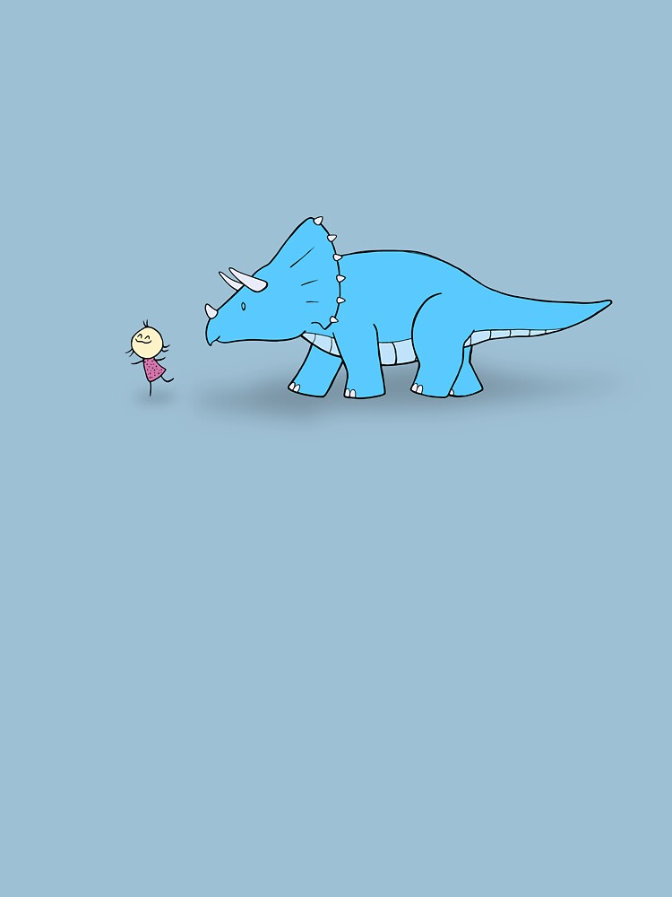 Hello Triceratops by Cheeseness