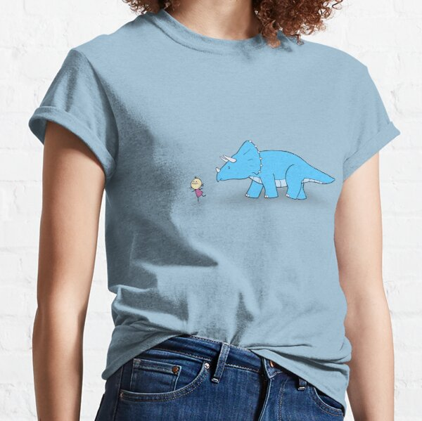 Hello Triceratops Classic T-Shirt