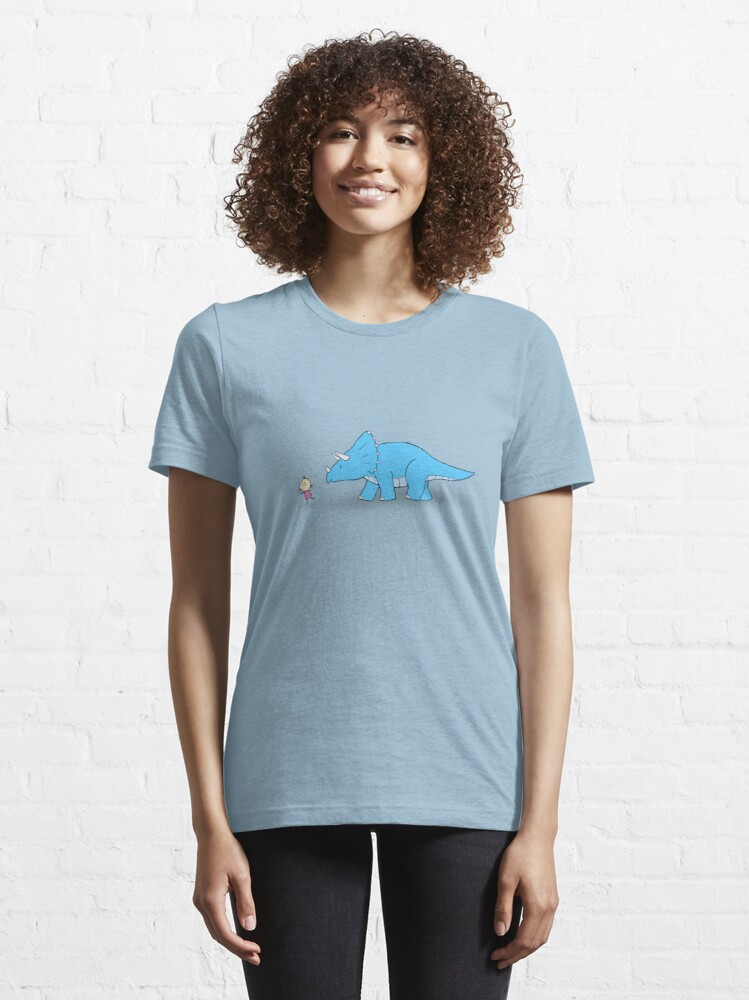 Alternate view of Hello Triceratops Essential T-Shirt