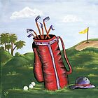 A day of golf by Vickie  Scarlett-Fisher