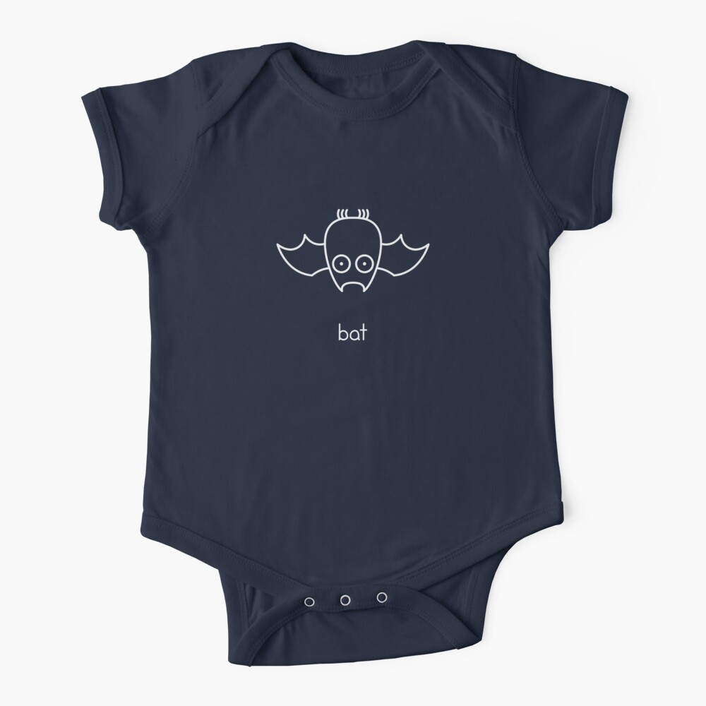 Bat - two lof bees Baby One-Piece