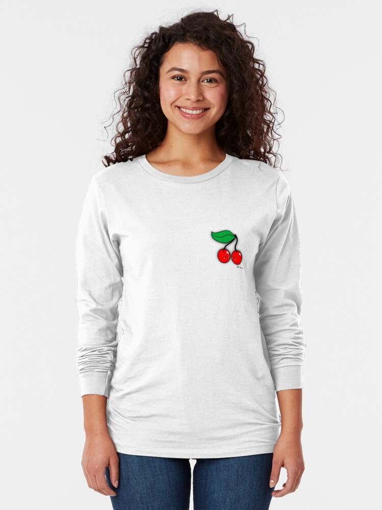 Alternate view of Hello Cherry - two lof bees Long Sleeve T-Shirt