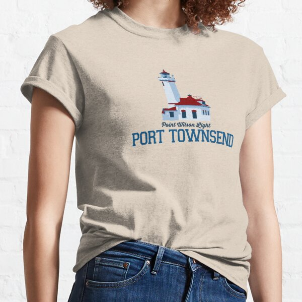 Port Townsend - Estado de Washington. Camiseta clásica