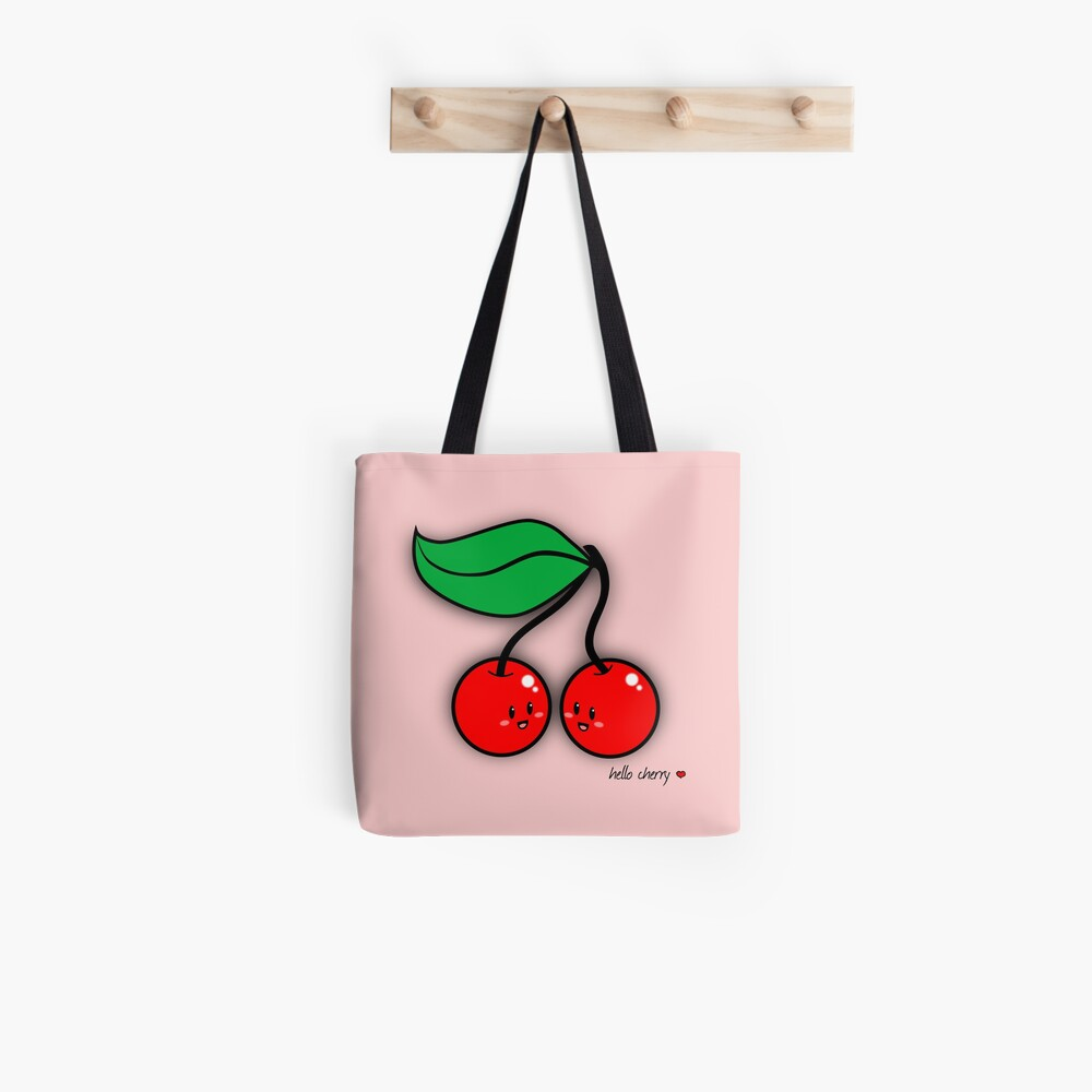 Hello Cherry - two lof bees Tote Bag