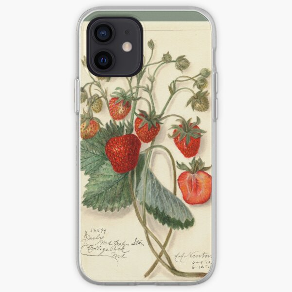 Erdbeerzeit iPhone Flexible Hülle