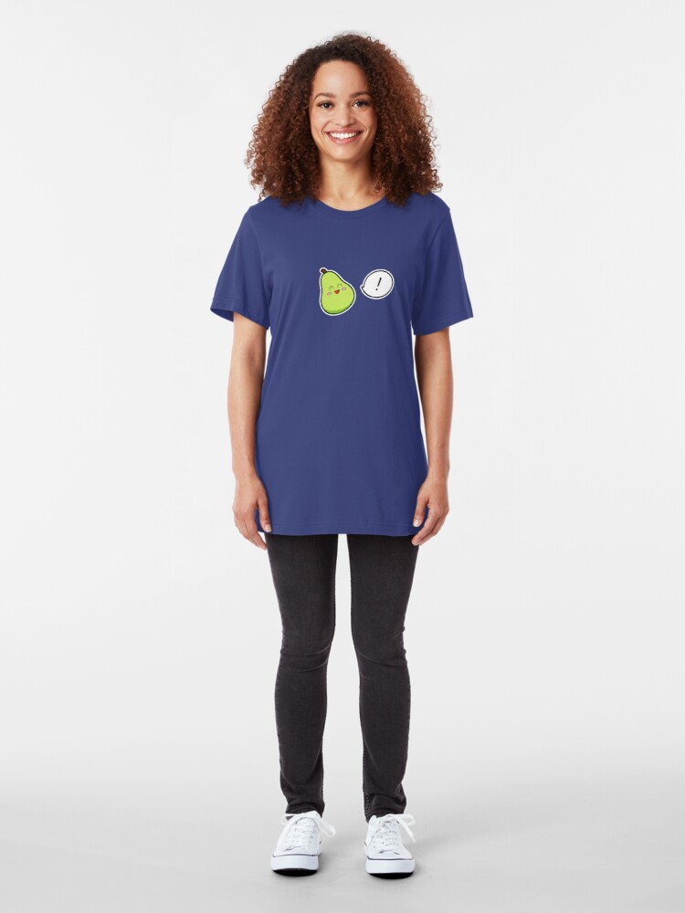 Alternate view of Happy Pear - two lof bees Slim Fit T-Shirt