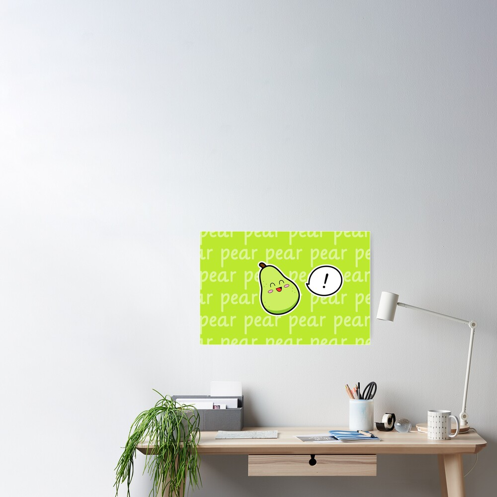 Happy Pear - two lof bees Poster
