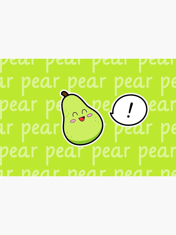 Happy Pear - two lof bees by Cheeseness