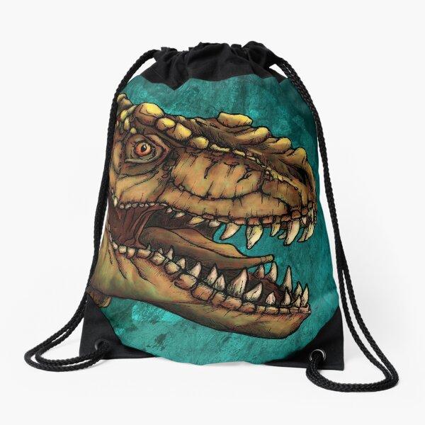 T-Rex Drawstring Bag