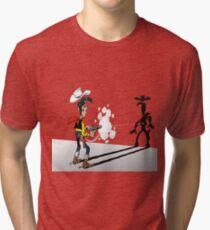 luckyluke Tri-blend T-Shirt