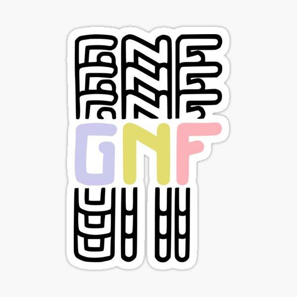 GeorgeNotFound GNF Logo Sticker