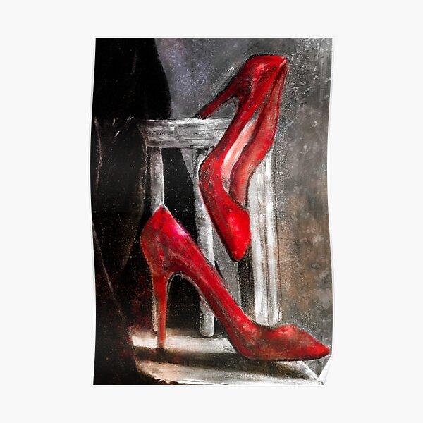 Red Stilettos Poster