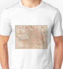 Vintage Map of Berlin Germany (1877) T-Shirt