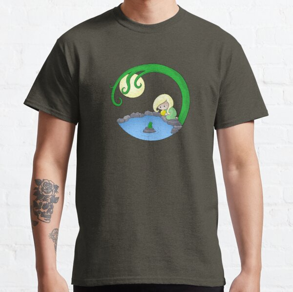 Girl At The Pond Classic T-Shirt
