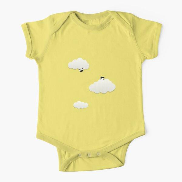 Cloud Ninjas Short Sleeve Baby One-Piece