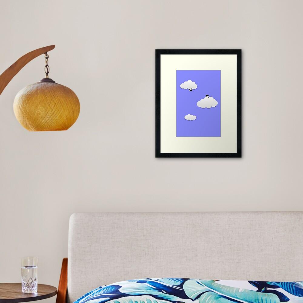 Cloud Ninjas Framed Art Print