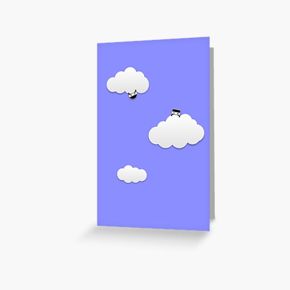 Cloud Ninjas Greeting Card