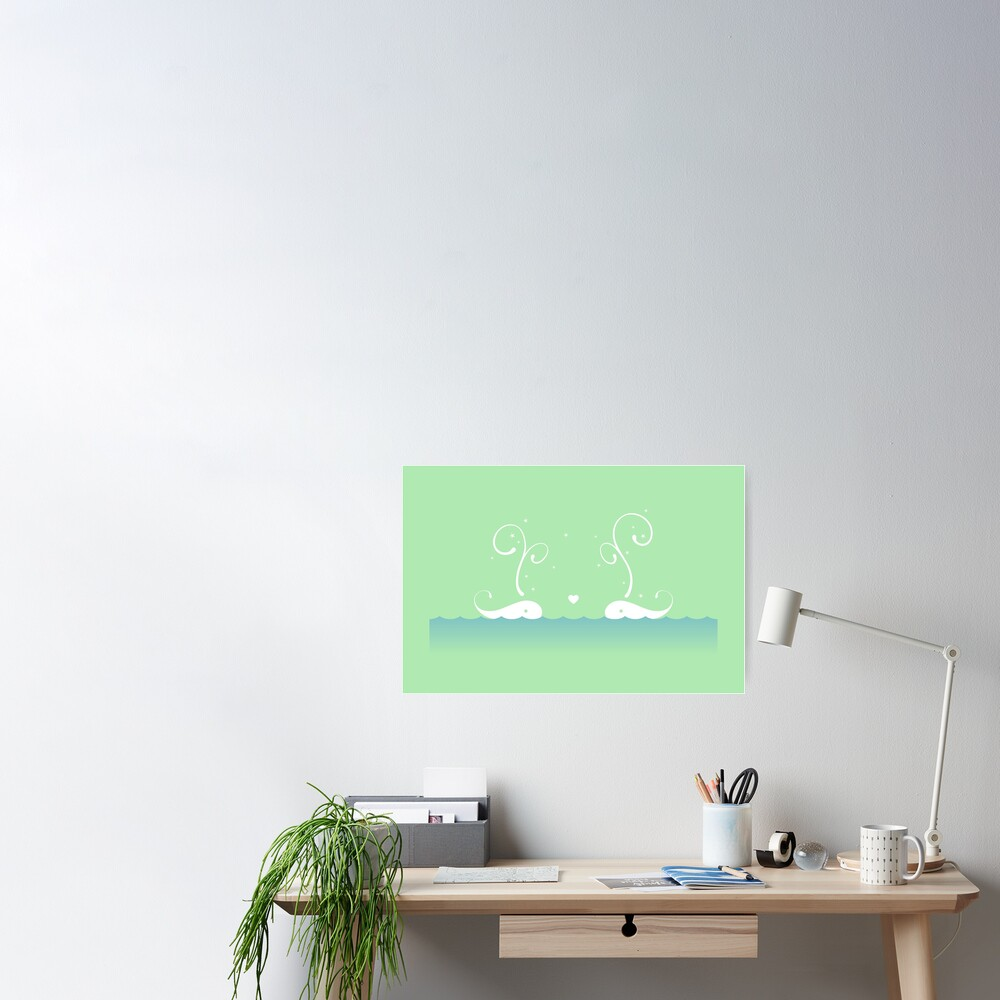 White Whales Poster