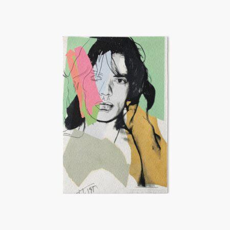 Andy Warhol Mick Jagger Art Board Print