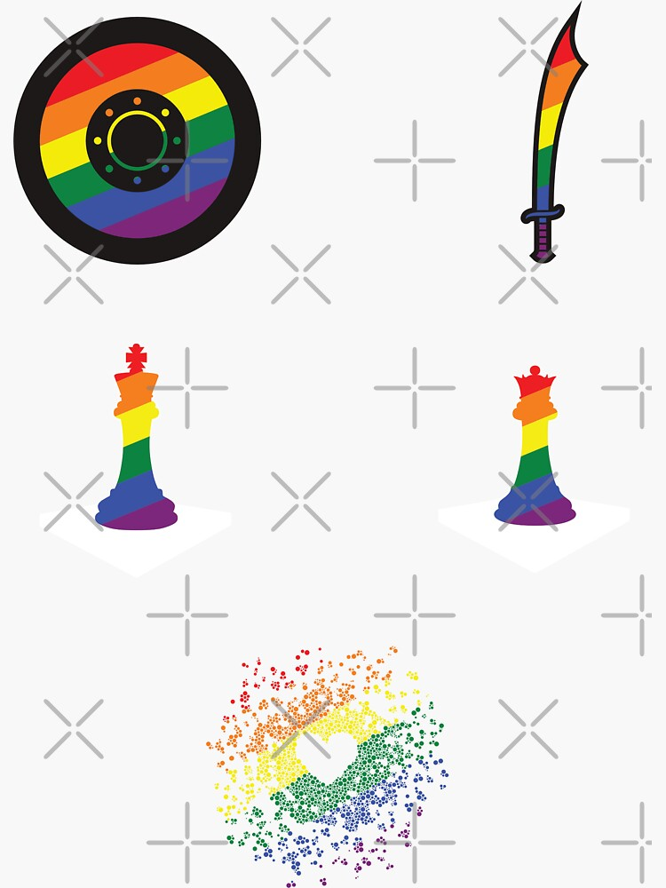 Gay sticker pack by aoifeenns