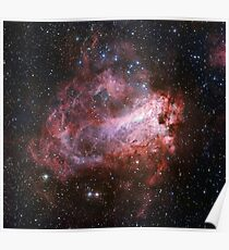 The Star Formation Region Messier 17 Poster