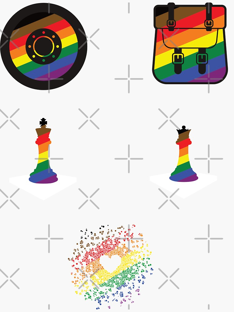 POC Pride sticker pack by aoifeenns