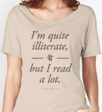 J. D. Salinger's The Catcher in the Rye - Literary Quote, Book lovers gift, modern home decor Women's Relaxed Fit T-Shirt