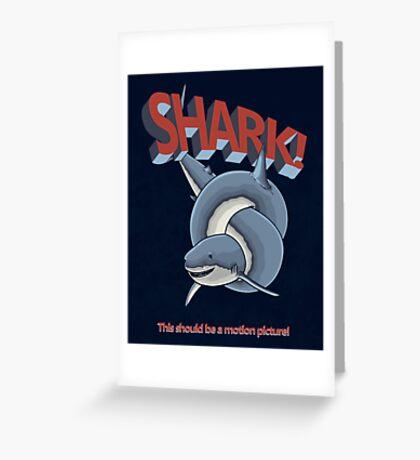 Shark! Greeting Card