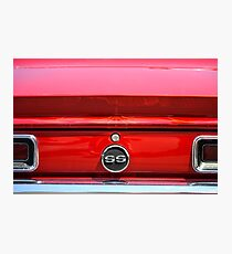 1968 Chevrolet Camaro SS Convertible Photographic Print