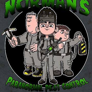 Norman's Paranormal pest control. by jcmaziu