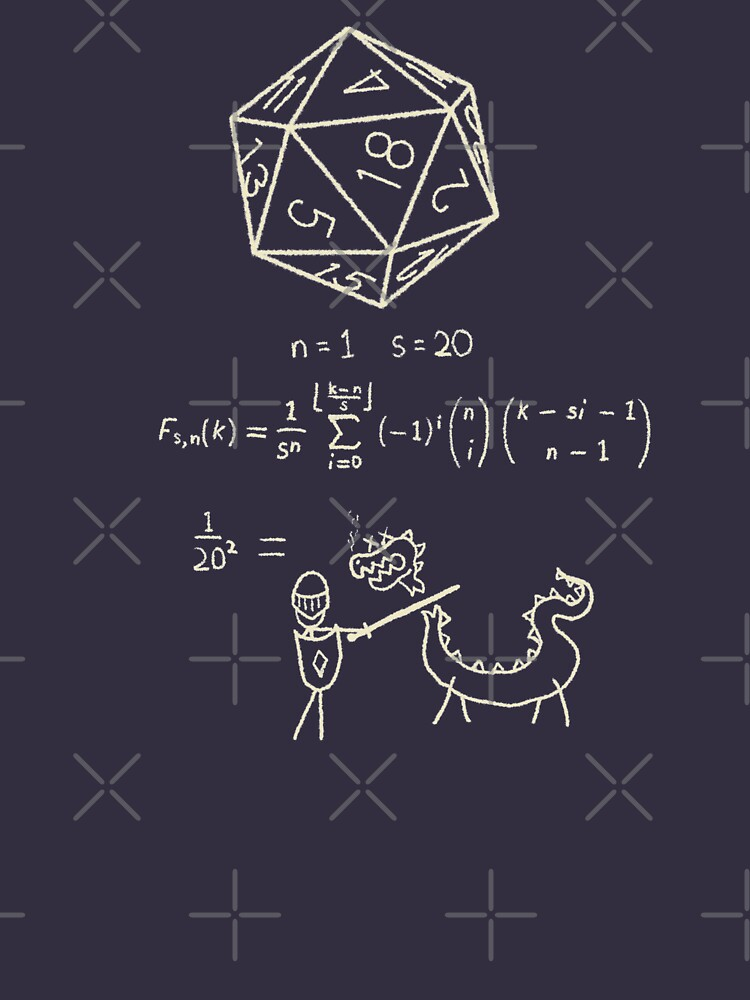 The science of 20 sided dice. by graffd02