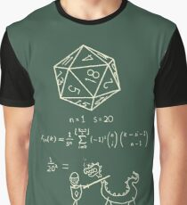 The science of 20 sided dice. Graphic T-Shirt